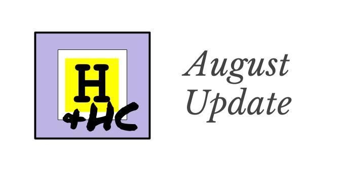 Update - 8 - August
