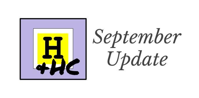 Update - 9 - September